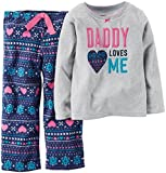Carter's Little Girls' 2 Piece Pj Set (Toddler/Kid) - Daddy Loves Me - 4