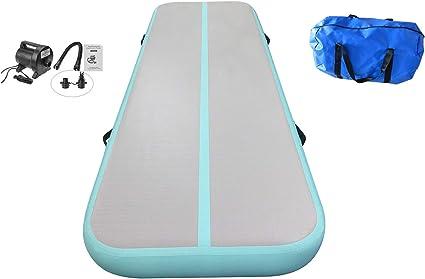 Tumbling Mat Air Gonflable gymnastique Track//Pompe électrique pour usage domestique//Cheerle