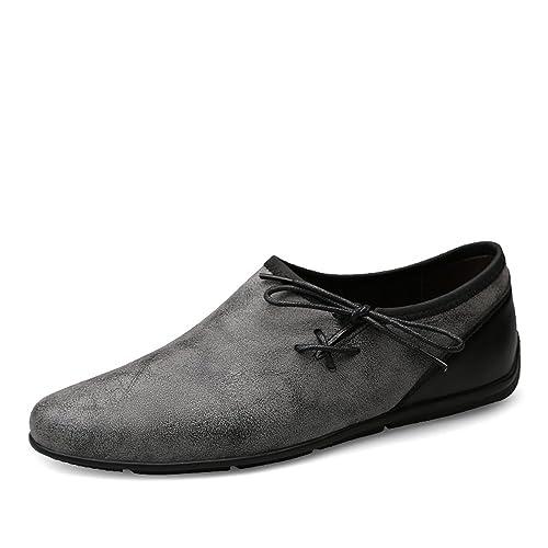 Hombre Drive Mocasines Moda Casual Trend Pequeños Zapatos sucios Restaurar Maneras Antiguas Mocasines de Barcos Suaves: Amazon.es: Zapatos y complementos