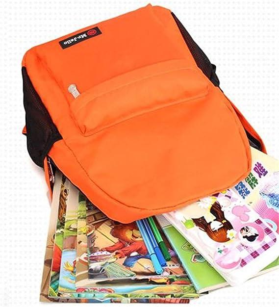 Mochila Escolar para niños con diseño de jardín de Infancia, Mochila de Entrenamiento de Clase de Tutorial, Rojo, Grande 30 x 13 x 44: Amazon.es: Equipaje