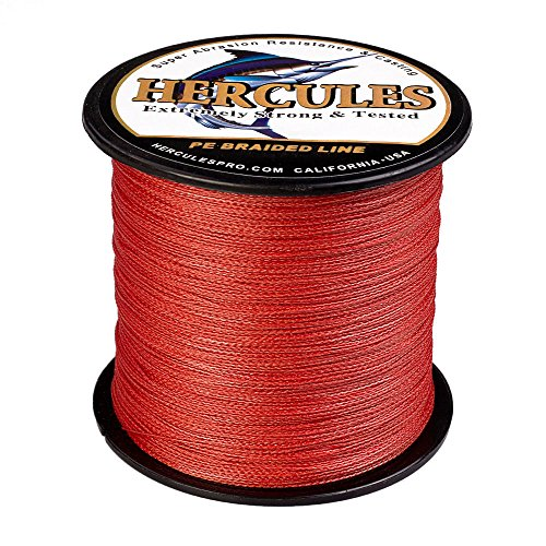 Hercules Braided Fishing Line 500m 547yds 6lbs-100lbs for sale  Delivered anywhere in Canada