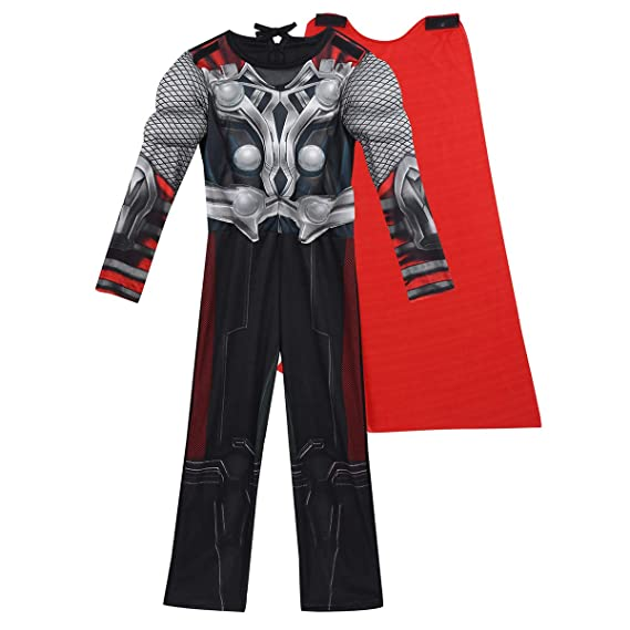 dPois Disfraz Marvel Avengers para Niños Disfraz Thor Niño ...