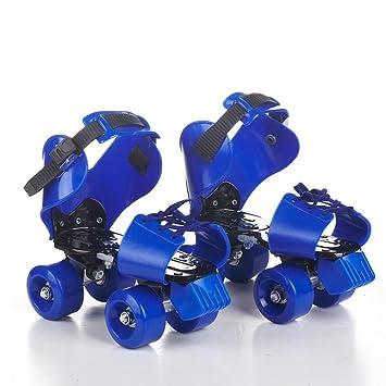 Patines de ruedas para niños Patines de doble fila Patín cuádruple Patinaje de cuatro ruedas Para