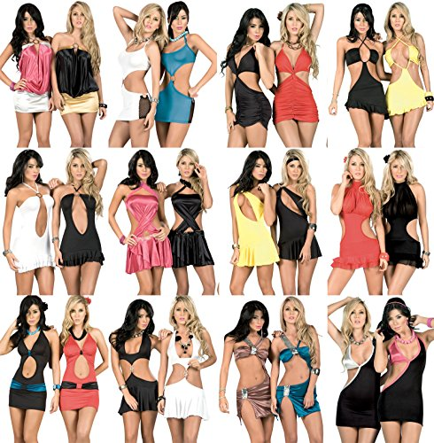 Variety Wholesale Lot Clothing 300 Women's Dresses Summer Tops Clubwear Mixed S M L XL by Variety