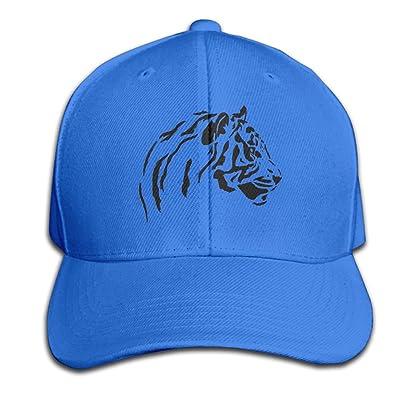 Blackycats11 Baseball Cap Tiger Portrait Dad Hat Adjustable Ball Caps For Men/Women