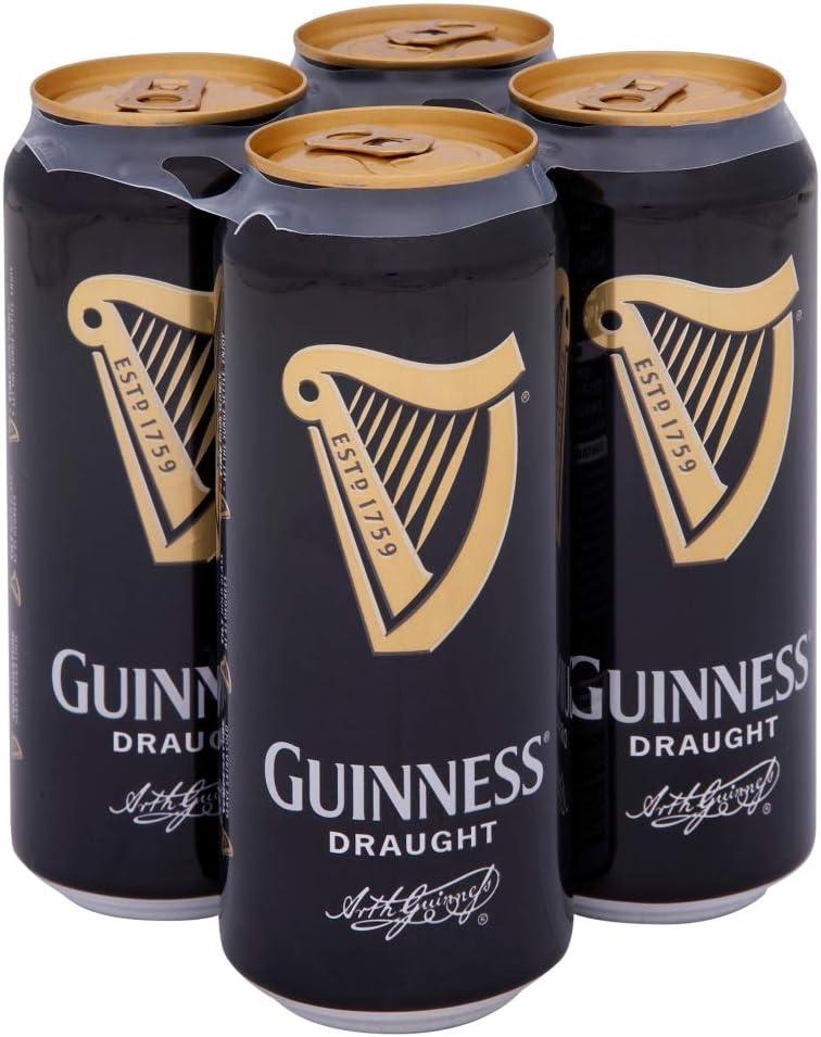 1 Lata de Cerveza Guinness Draught 0,33 lt. 33 cl