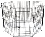 Cool Runners Wire Xpen for Dogs with Gate, 48'' H x 24'' W x 60'' D