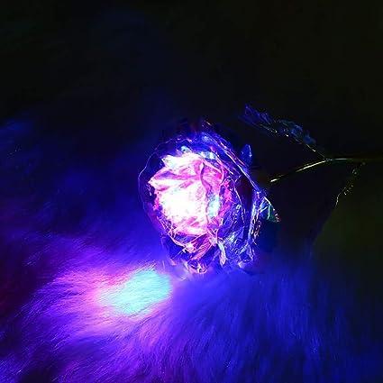 381dc73883595 Amazon.com: KPST Flowers - 24K Gold Foil Flower Eternity Rose ...