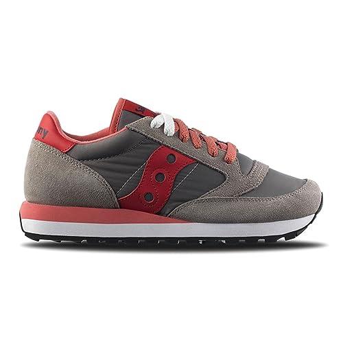 Saucony Scarpe Sneakers Donna Woman Ragazzo Sport scarpe Running Jazz Original, 42 Eu