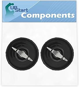 2 Pack UpStart Components Replacement Flat Blade for Magic Bullet MB1001 Original Blender