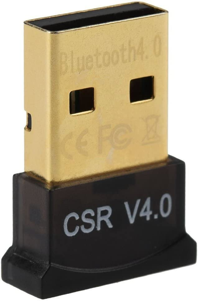 Link-e - USB adaptador Bluetooth V4.0 (20-50 m, caudal 3 MBps), compatible con Windows 10/8/7/XP/Vista/2000/ME/98se/98