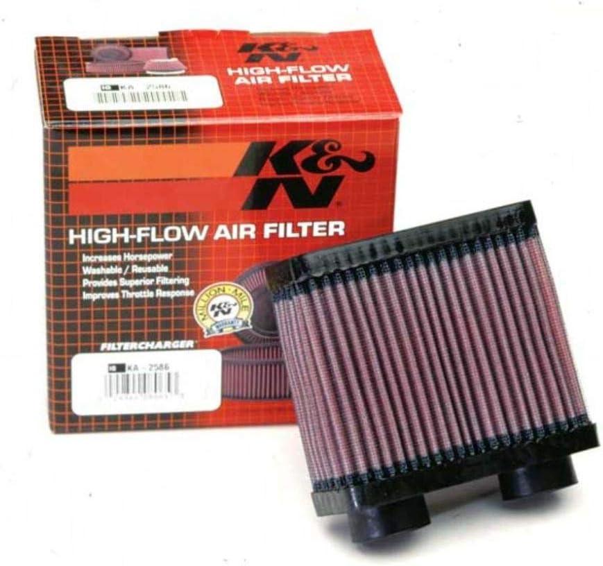 K&N Engine Air Filter: High Performance, Premium, Powersport Air Filter: 1986-2007 KAWASAKI (EX250R Ninja) KA-2586