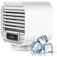 Staright Ventilador de ar condicionado portátil Refrigerador de ar de mesa 150mL Mini refrigerador de espaço com 3…