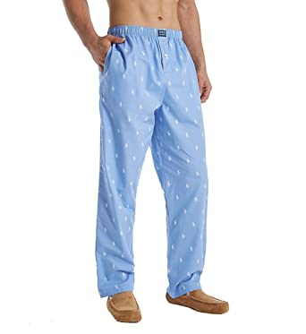 553f60e063 Polo Ralph Lauren Men s Allover Pony Pajama Lounge Pants at Amazon ...