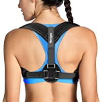 Tomight Back Posture Corrector for Women & Men, Adjustable Back Brace to comfortably Improve Posture-Clavicle Support for Slouching & Hunching-Upper Back/Relief Neck Shoulder Pain by Sahara AU [Upgrade Version]