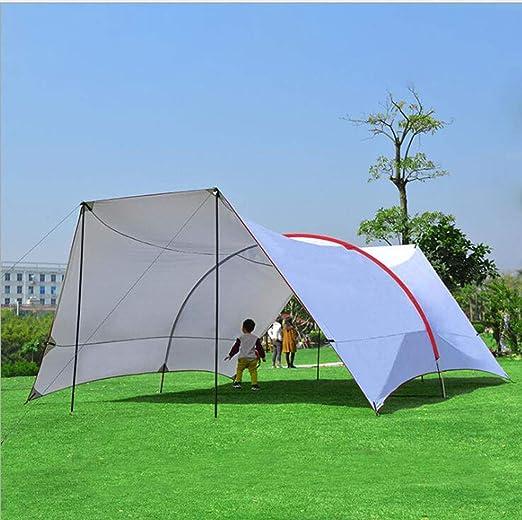 Cenador para Terraza Jardín Patio - Toldo para Eventos al Abierto, Event Shelter, ienda de Protección UV con Paneles Laterales para Playa, Festivales Camping (6x6x3.8x2m): Amazon.es: Jardín