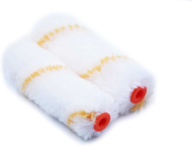 Rollingdog Lot de 10 mini couvre-rouleaux en acrylique