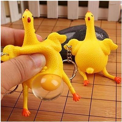 Shangjie Town Fun Pranks Jokes Reduce Pressure Simulation Vent Chicken: Toys & Games