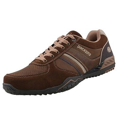 promo code 60641 b4584 Dockers by Gerli Herren Sneaker Braun