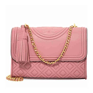 Fleming small convertible shoulder bag - Pink & Purple Tory Burch Cheap Sale Best Store To Get vfE4D