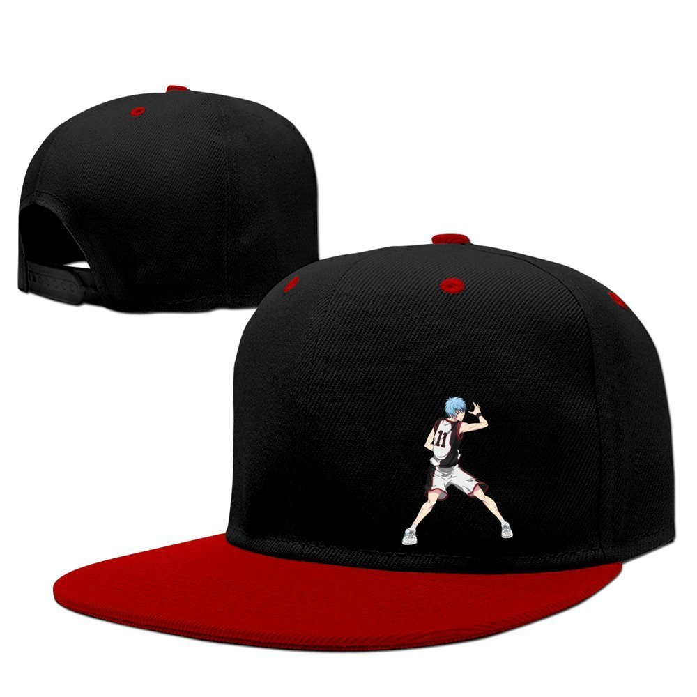 XCarmen Japanese Sports Anime Kuroko No Basket Hip Hop Gorra Red ...