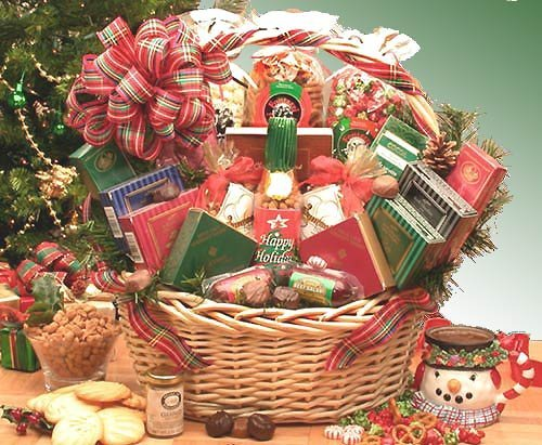 Amazing Holiday! Gourmet Holiday Gift Basket -LG by Organic Stores