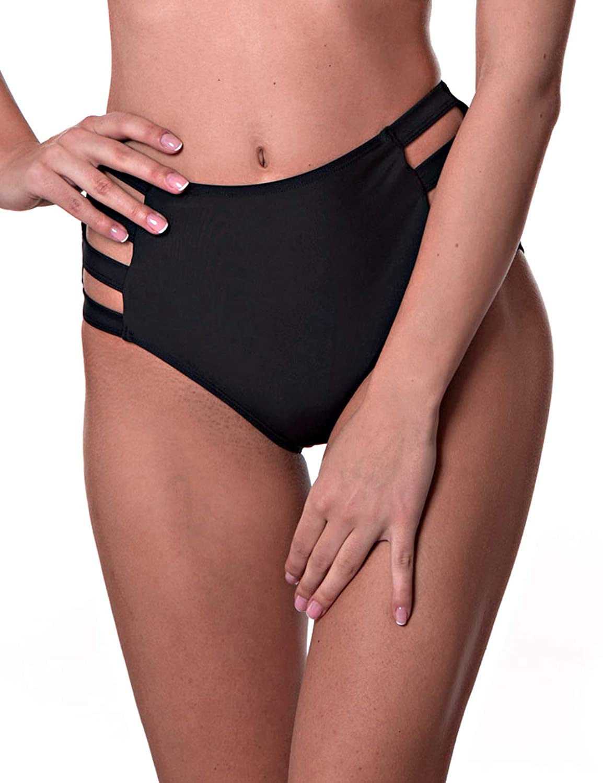 RELLECIGA Womens High Waisted Bikini Bottom
