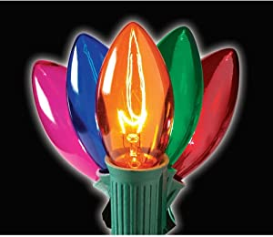 Home Accents Holiday C9 25-Light Multi-Color Light Set