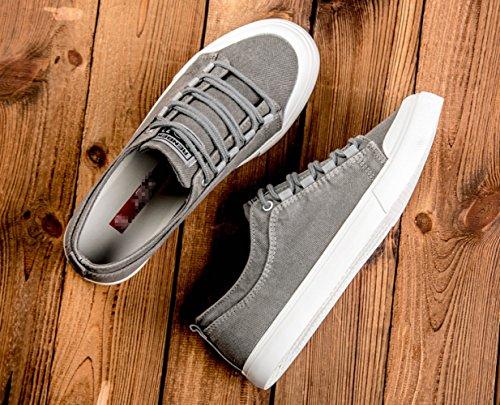Estate sneakers tela moda da marea scarpe scarpe versatile da scarpe Grigio uomo retro scarpe scarpe di WFL da uomo uomo casual dOqCwq