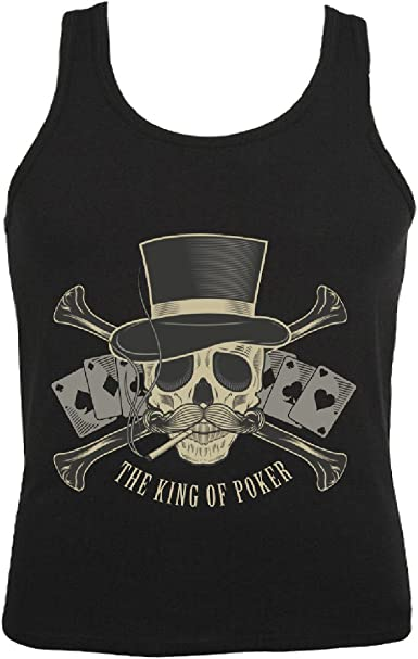 Camisa del músculo Tank Top Rey DE Poker - Juego de Cartas ...