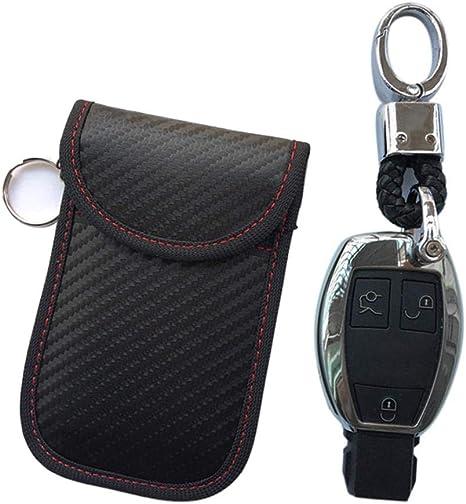 Rfid Keyless Go Schutz Autoschlüssel Keyless Go Schutz Autoschlüssel Schutz Abschirmung Auto Blocker Schlüsseltasche Strahlenschutz Tasche Blocking Hülle Box Etui Schlüsseletui Schutzhülle Car Key Saf Küche Haushalt