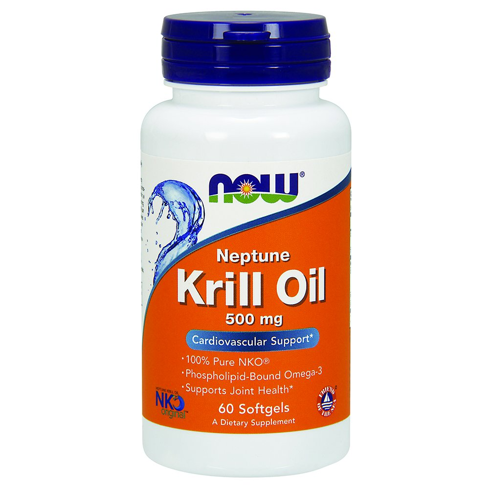 NOW Neptune Krill Oil,60 Softgels