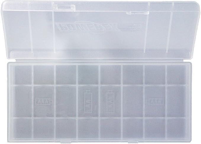 Powerex MH-BH8AA - Caja clasificadora para pilas (capacidad: 8 pilas AA o AAA): Amazon.es: Bricolaje y herramientas