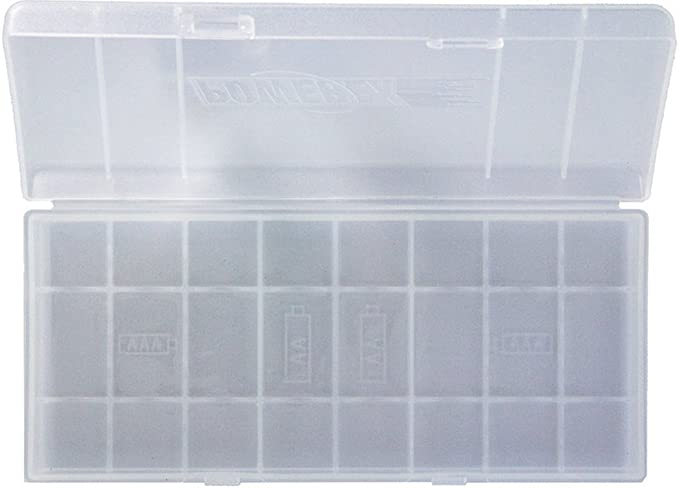 Powerex MH-BH8AA - Caja clasificadora para pilas (capacidad: 8 ...