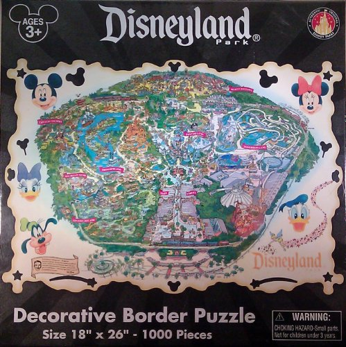 Amazon disneyland theme park exclusive decorative border puzzle amazon disneyland theme park exclusive decorative border puzzle 1000 pieces toys games gumiabroncs Images