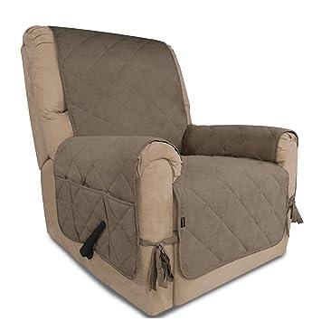 Amazon.com: Funda de sofá de ante suave y fácil de llevar ...