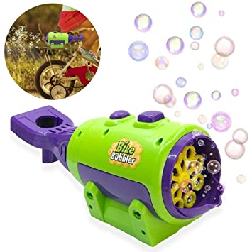 Water Blowing Toys Soap Bubble Blower Gun Outdoor Kids Child Toys Wedding DecorY