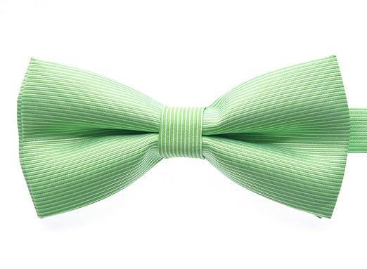 Uyoung - Corbata - para hombre Amarillo verde lima Talla única ...
