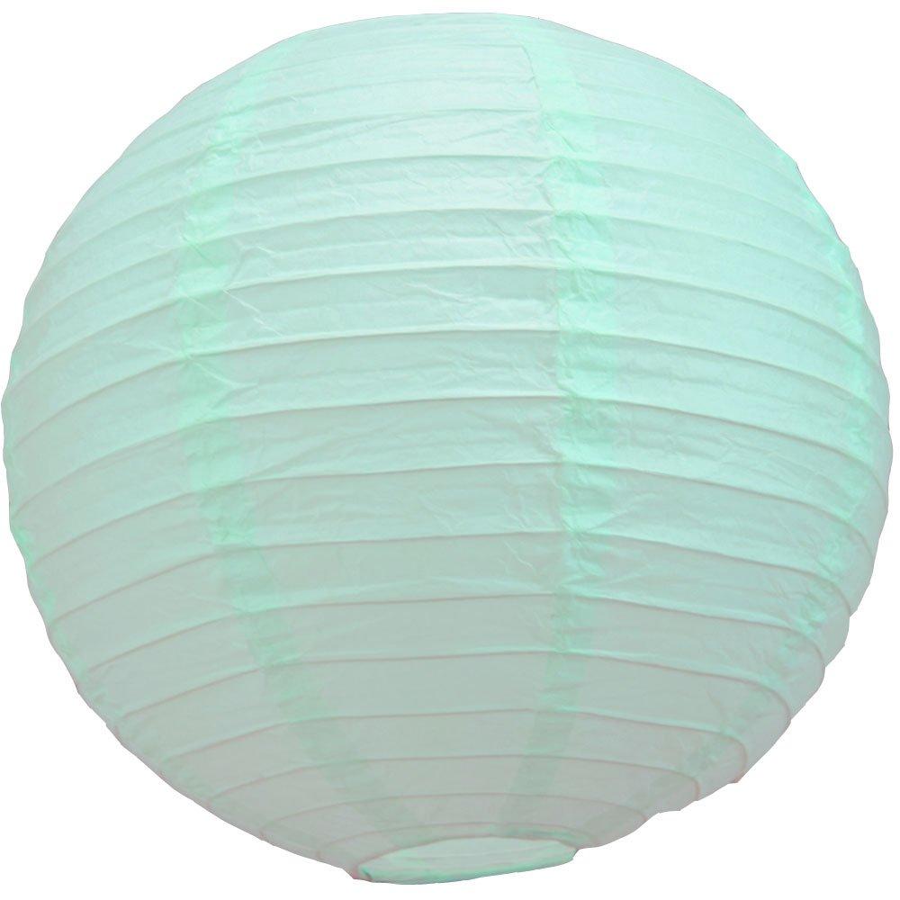 球体ペーパーランタン うね織り模様 ぶらさげるのに(電球は別売り) 36 Inch 36EVP-IC 1 B009ZYIKKY 36 Inch|Arctic Spa Blue Arctic Spa Blue 36 Inch