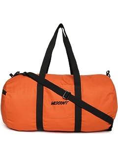 b4b58963e2f8 Wildcraft Polyester 46 cms Orange Travel Duffle (10590 Orange The Drum)