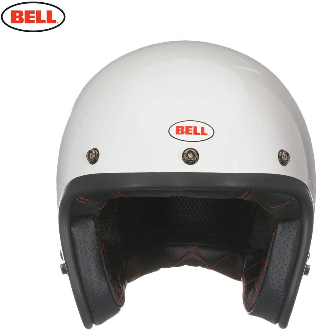 BELL Jet Custom 500 DLX Pulse Gloss Noir Rouge