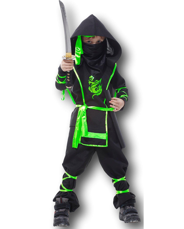 infantil Artes Marciales Ninja Disfraz Cobra Dragon Ninja ...