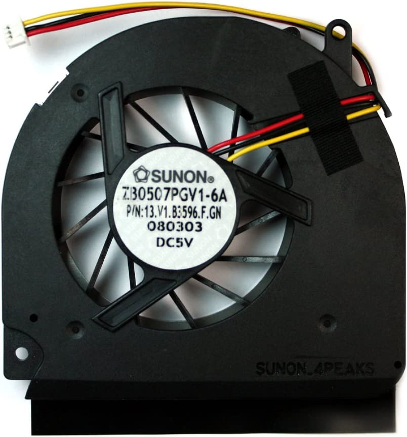 Power4Laptops Replacement Laptop Fan for Acer Travelmate 6593-652G16Mn, Acer TravelMate 6593-653G25MN, Acer TravelMate 6593-653G25N, Acer Travelmate 6593-6585, Acer Travelmate 6593-662G25N