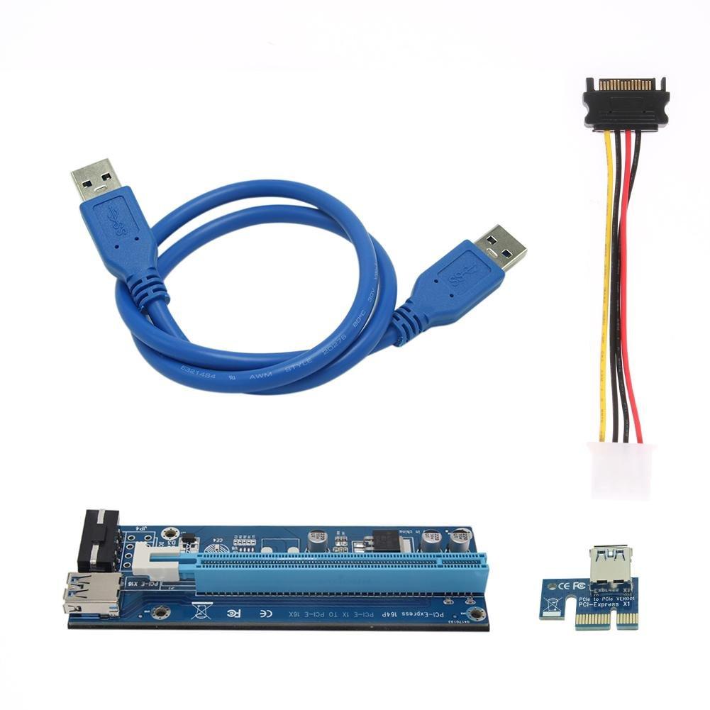 Hillrong - Cable Adaptador de Tarjeta gráfica PCI-E de 4 ...