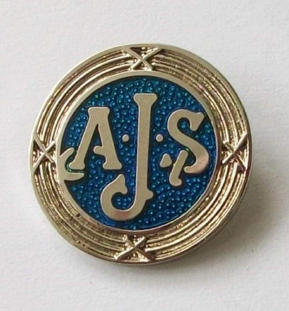 Unbekannt AJS Anstecknadel Emaille