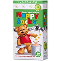 Nappy Sacks The Orignal Nappy Disposal 50 Bags