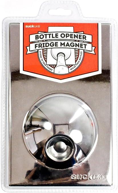 Novelty Stainless Steel BEER BOTTLE OPENER Fridge Refrigerator Magnet Opener New
