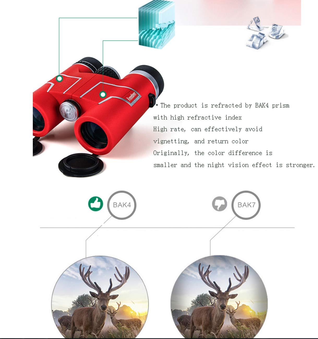 8x32 Prismáticos Impermeables Zoom Prismáticos Ultra HD FMC Tache Prismáticos con Tache FMC para Observación de Aves Observación del Paisaje Juego de Pelota de Pie Caza Pesca Viajar 985f27