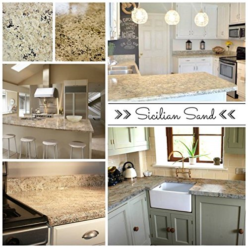 decorating budget tip - granite counter tops