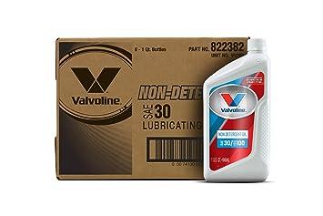 Amazon Com Valvoline Daily Protection Non Detergent Sae 30